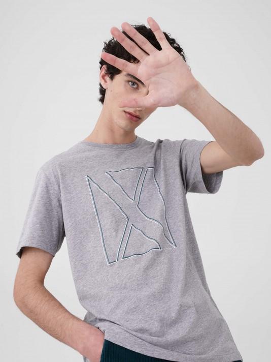 T-shirt estampado logotipo