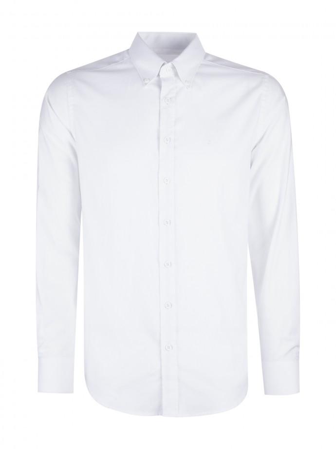 Camisa regular fit em oxford