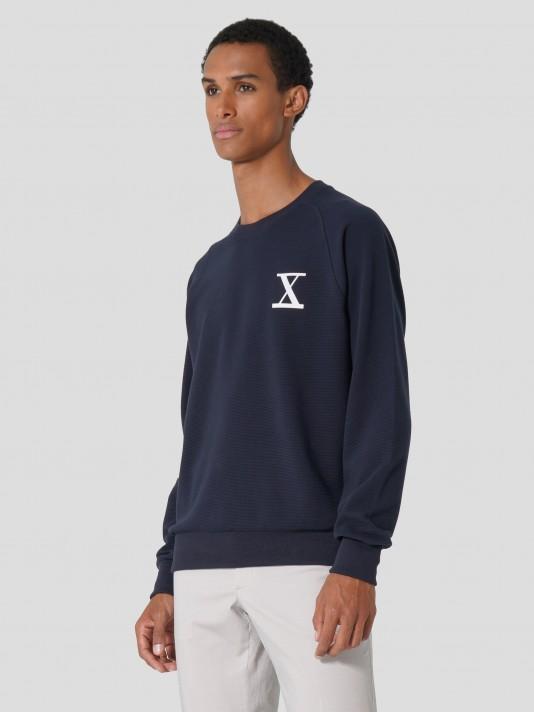 Sweatshirt com logótipo