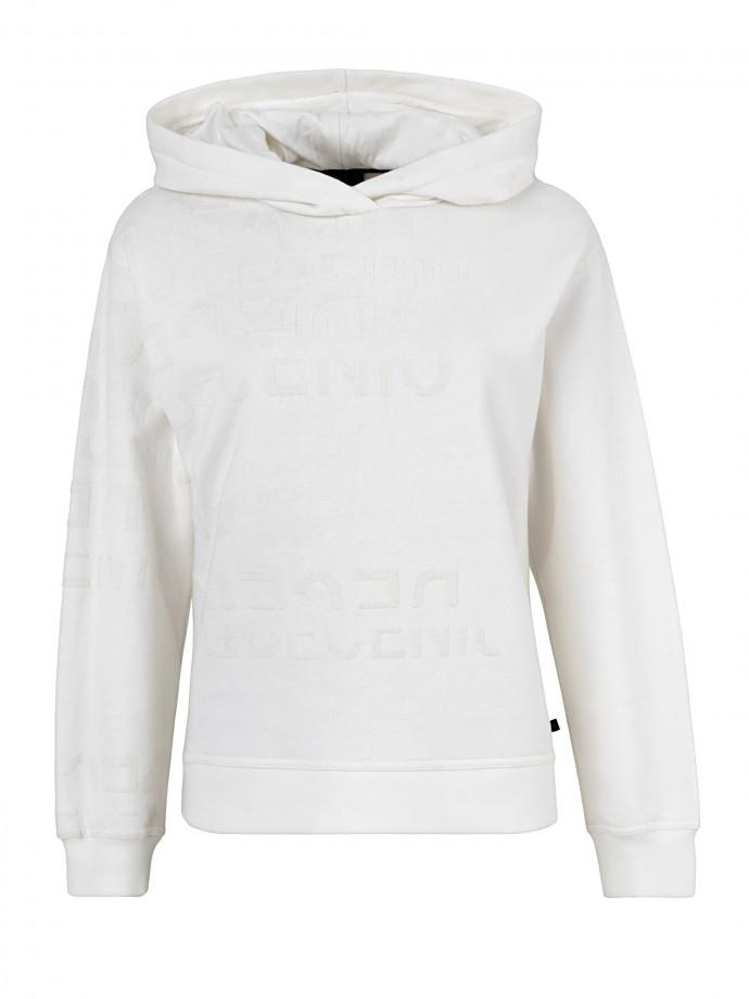 Sweatshirt estampada com capuz