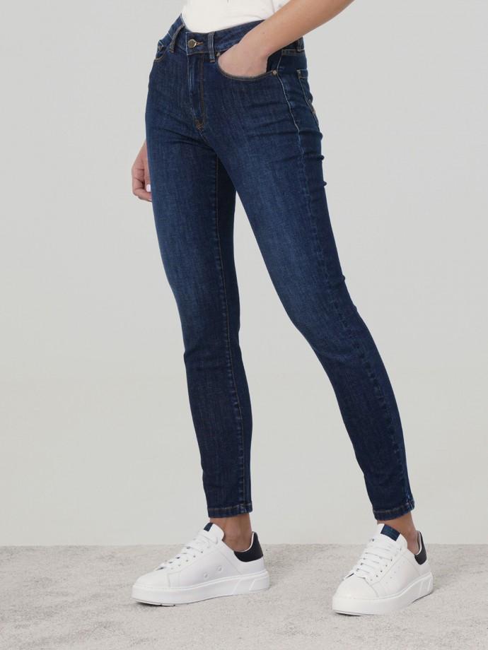 Calças denim skinny fit