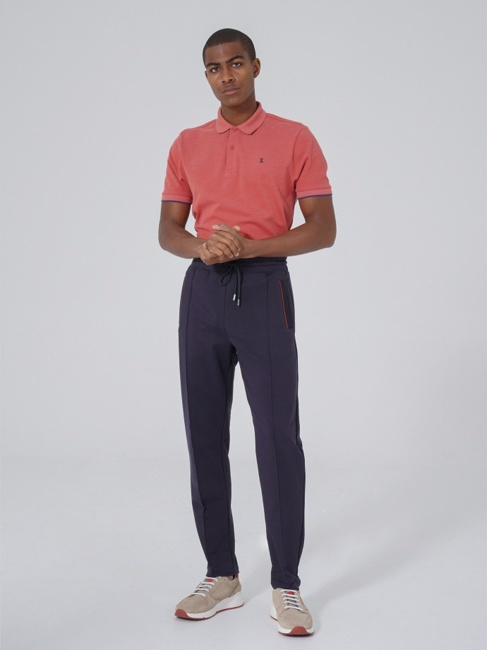 Calças jogging fit
