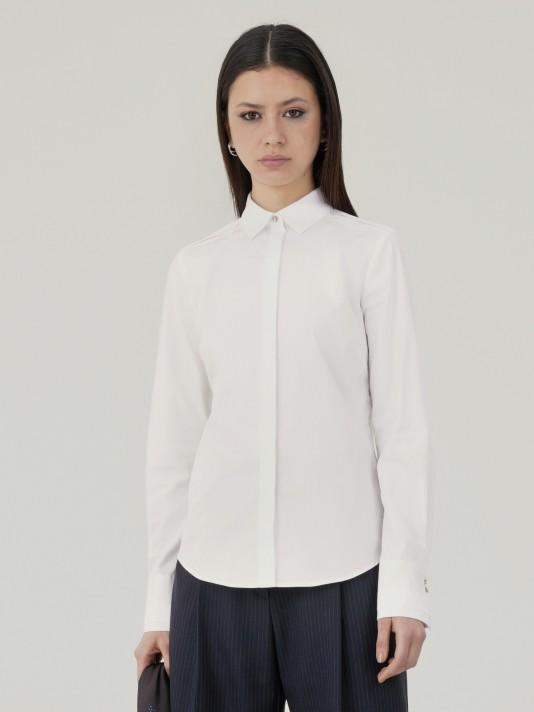 Basic slim fit shirt