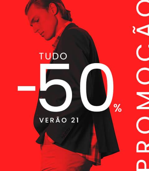 Tudo -50%
