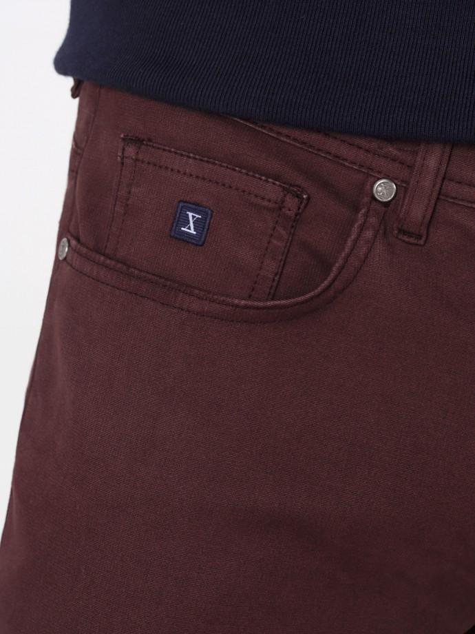 Calças 5 pocket regular fit