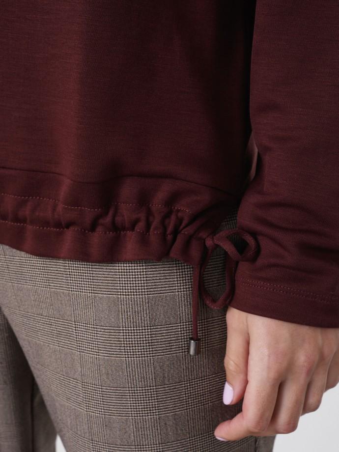 Camisola com cordão em Lyocell