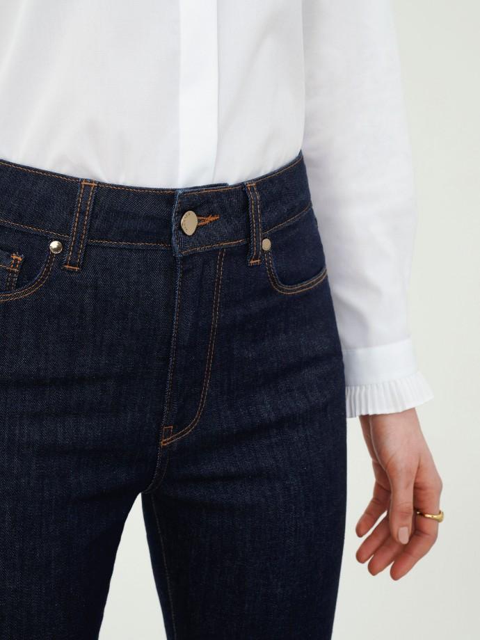 Calças denim regular fit