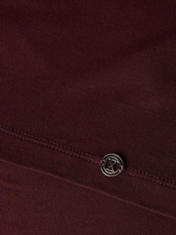 Camisola básica decote redondo